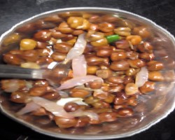 Fried Kala Chana Recipe