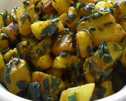 Punjabi Aloo Methi Recipe