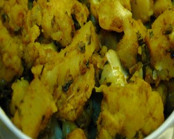 Kasoori Methi With Gobhi
