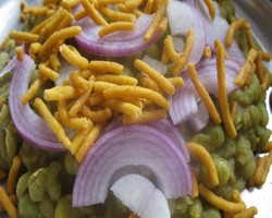 White Peas Chaat Recipe