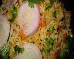 Carrot And Spinach Rice Indian Vegetarian Recipes Indian Regional Recipes Indian Food Recipes Indian Microwave Recipes Diabetic Recipes