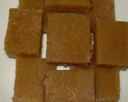 Rice Burfi Recipe
