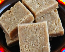 Walnut Barfi Recipe