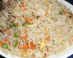 Vegetable And Egg Fried Rice Recipe